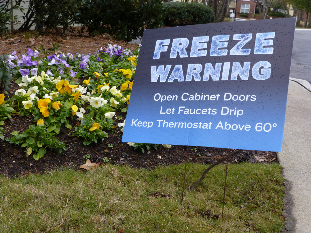 Freezing Warning