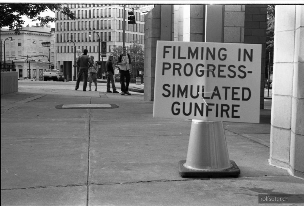 Filming in Progress