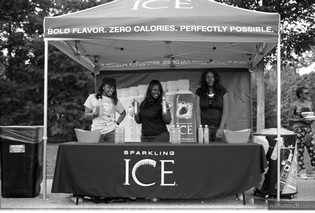 ICE at the Atlanta Jazz Festival in Piedmont park