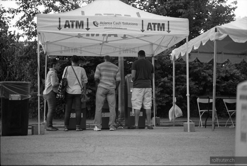 ATM at the Atlanta Jazz Festival in Piedmont park