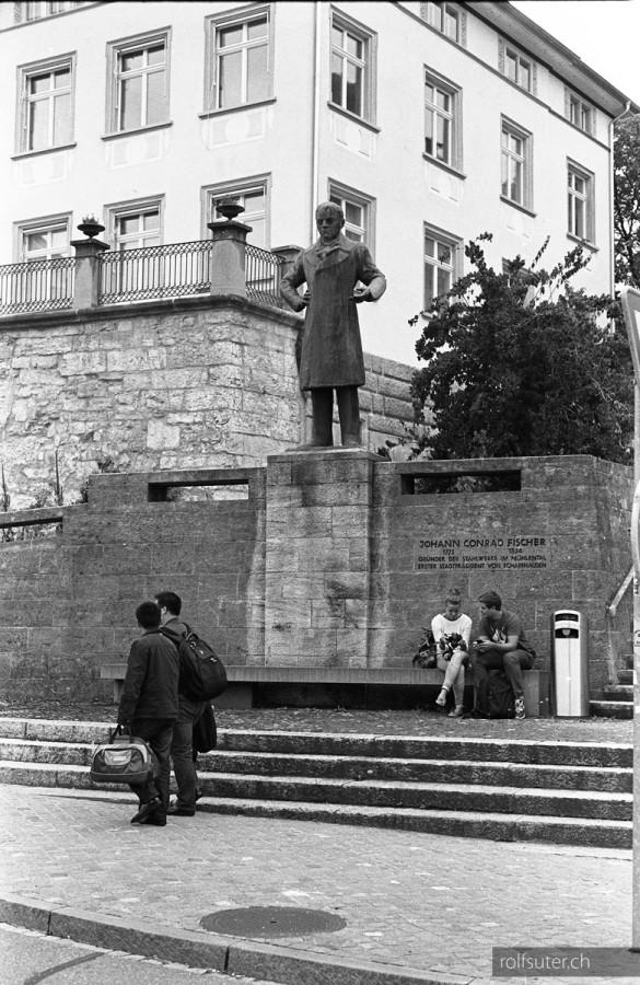 Fischer monument Schaffhausen