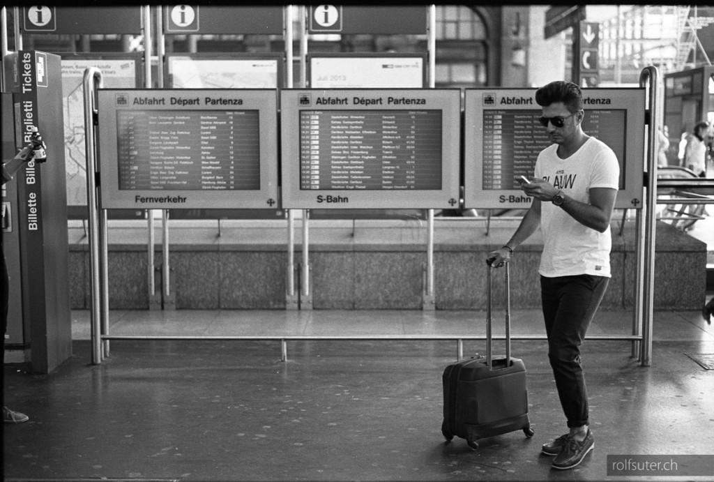 Departure, Zürich HB