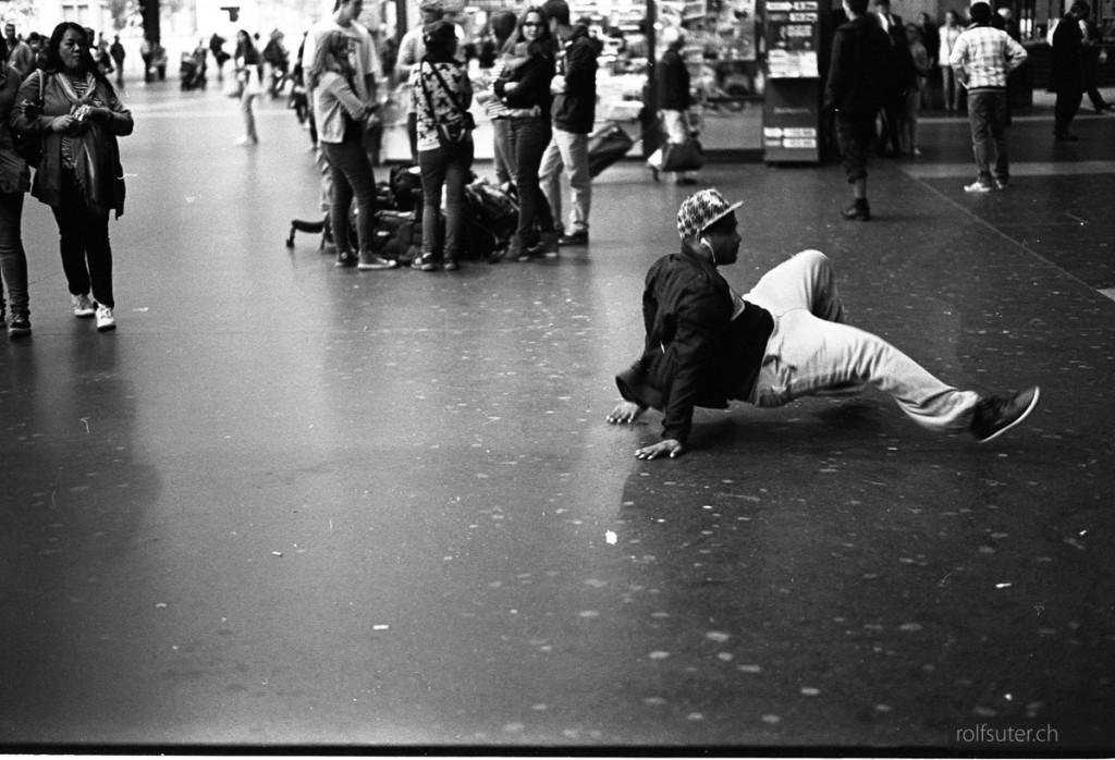 Break dance at Zürich HB