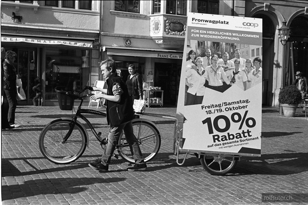 Promotion on Bicycle