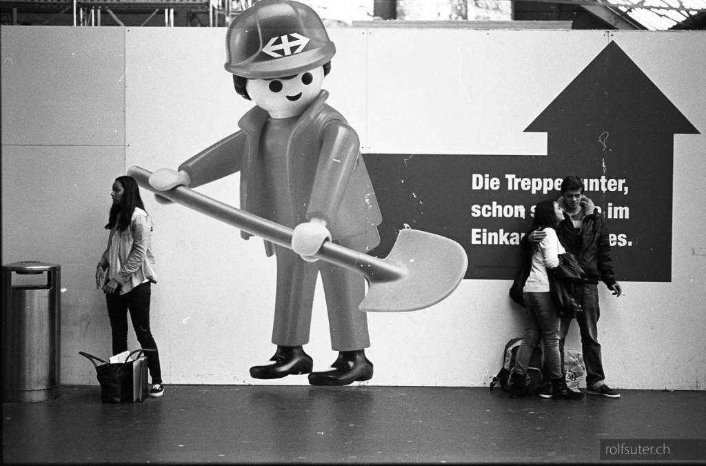 Playmobil at Zürich HB