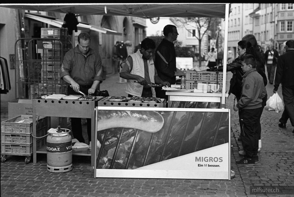 Sausages in Schaffhausen