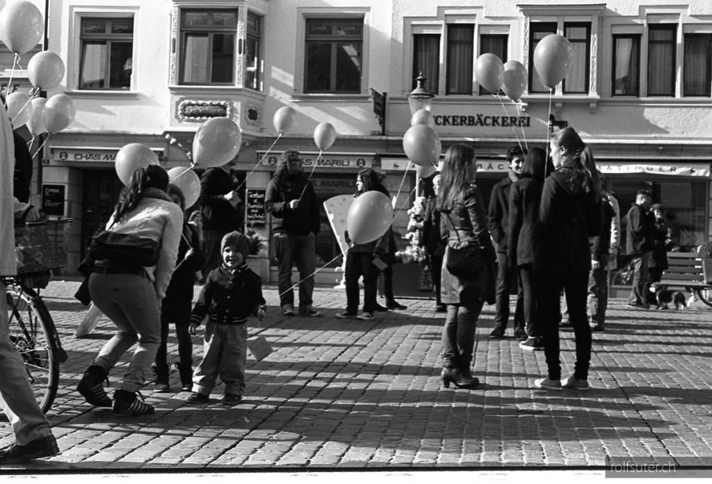 Balloons in Schaffhausen
