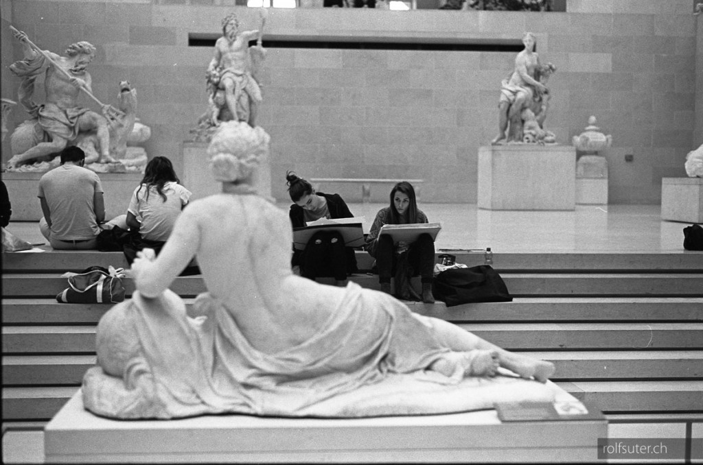 Nice back at the Louvre in Paris