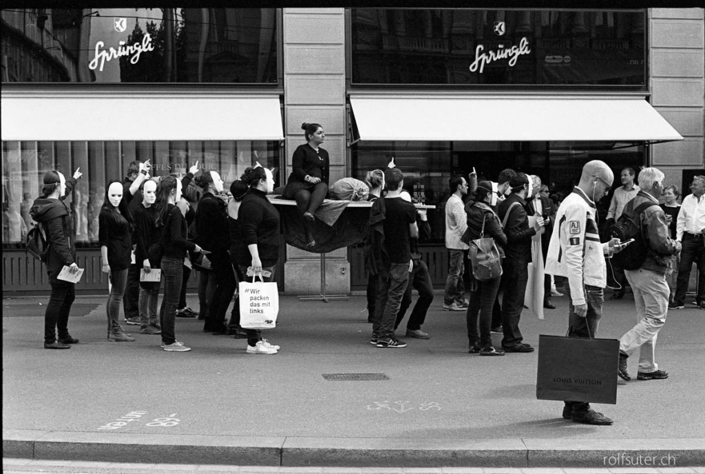 Demo in Zürich