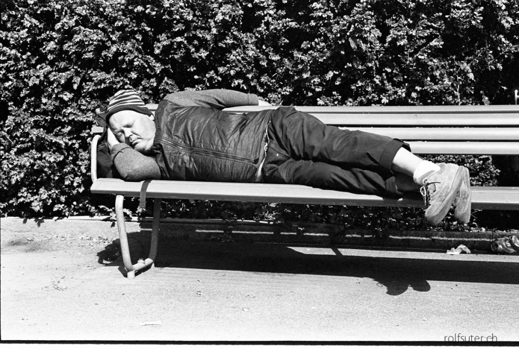 Sleeping in Zürich
