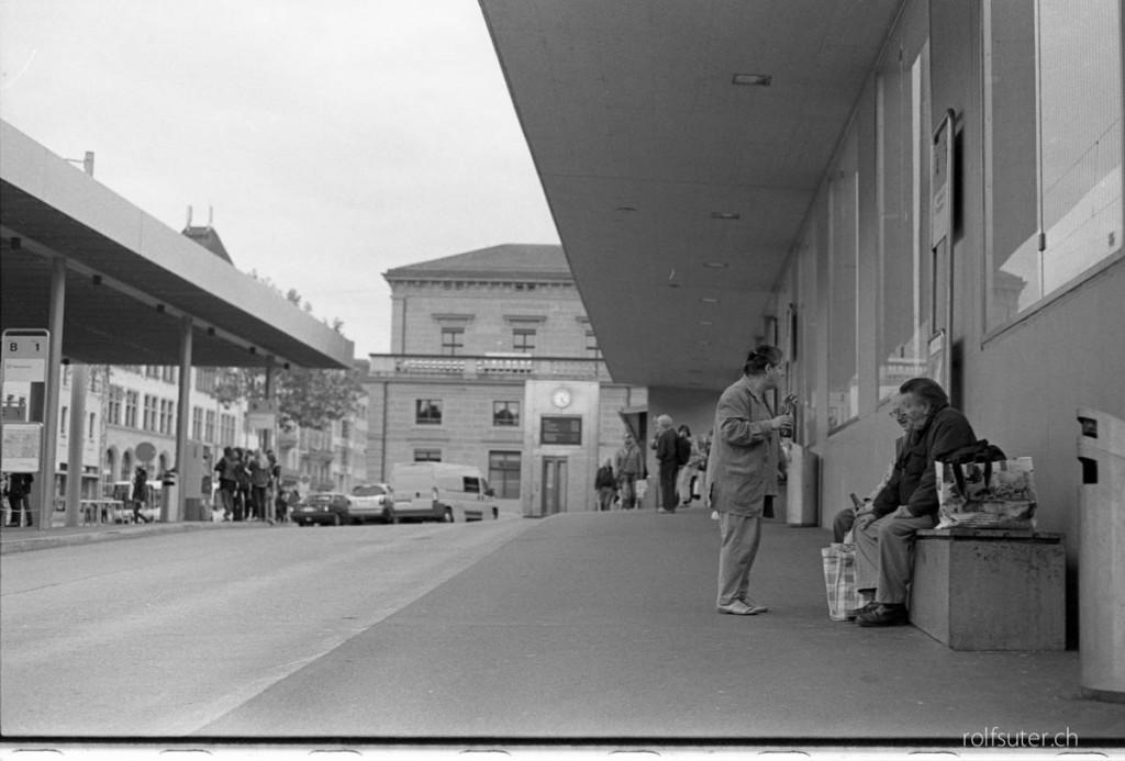 Bus station Schaffhausen