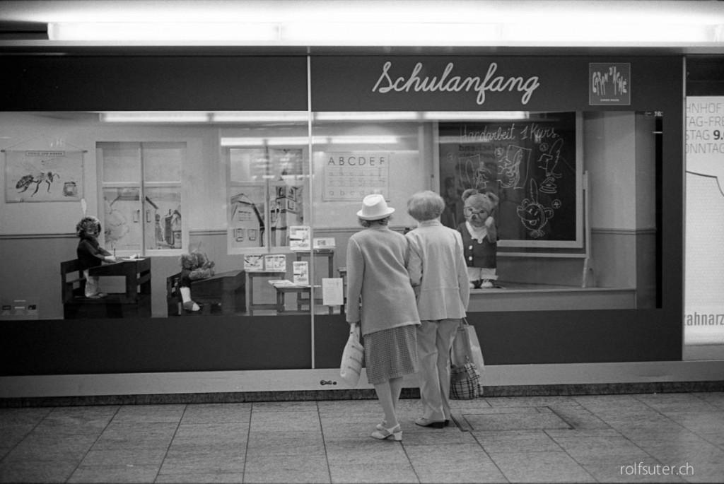 Schulanfang in Bern