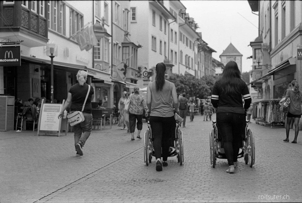 Wheelchair race in Schaffhausen