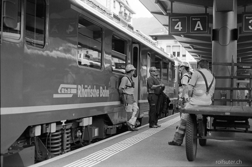Tirano, train station