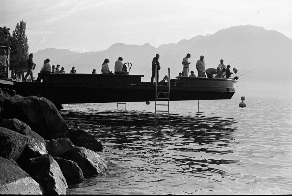 Platform over Lake Geneva (Montreux)