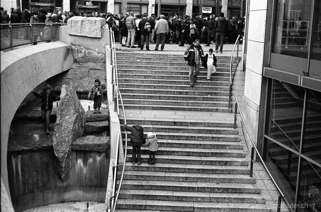 Stairs in Stuttgart