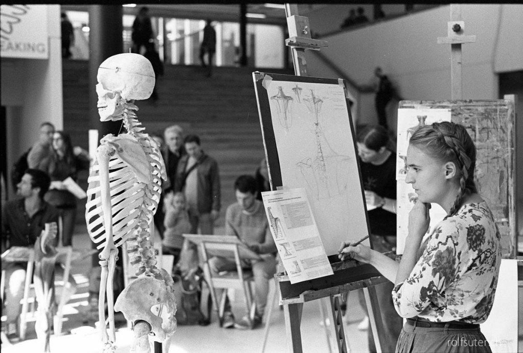 Skeleton at ZHdK (Zurich University of the Arts)