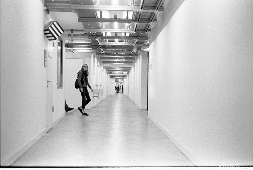 Corridor at ZHdK (Zurich University of the Arts)