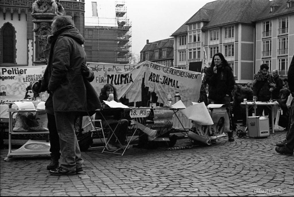 Another demonstration in Frankfurt