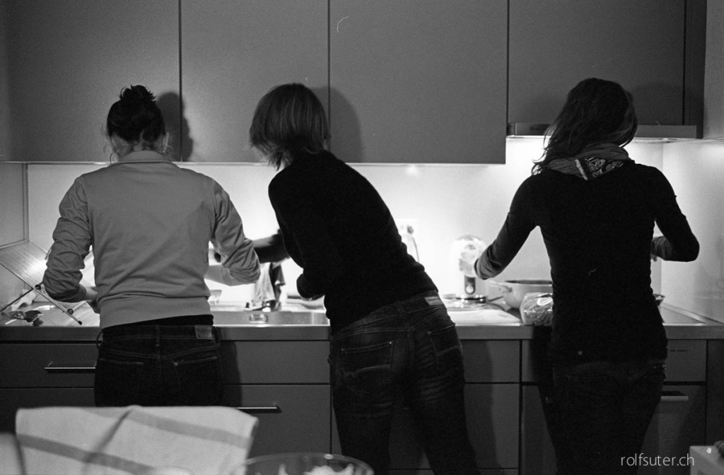 Cooking session somewhere in Zürich