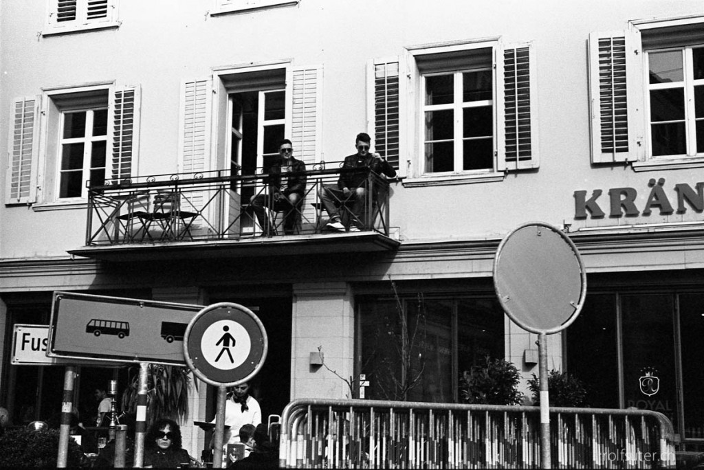 At the balcony, St. Gallen