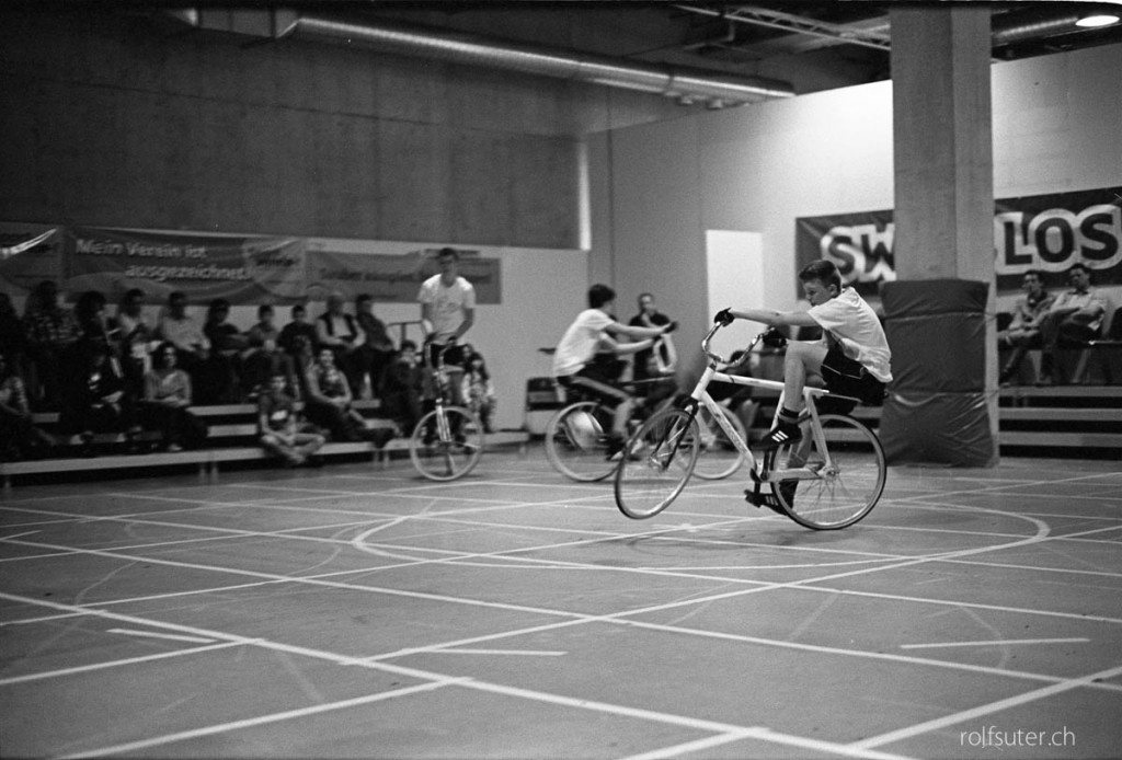 Cycle ball at the OFFA, St. Gallen