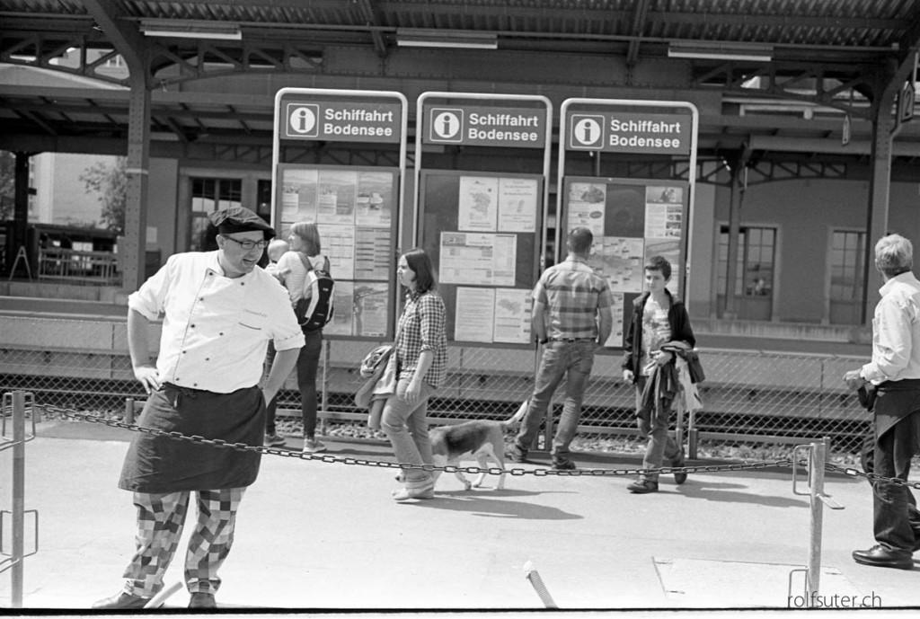 Waiting in Romanshorn