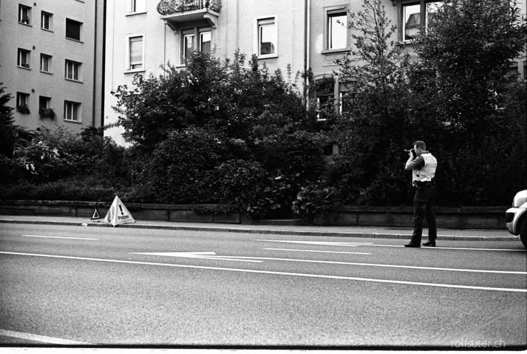 Street photographer, St. Gallen