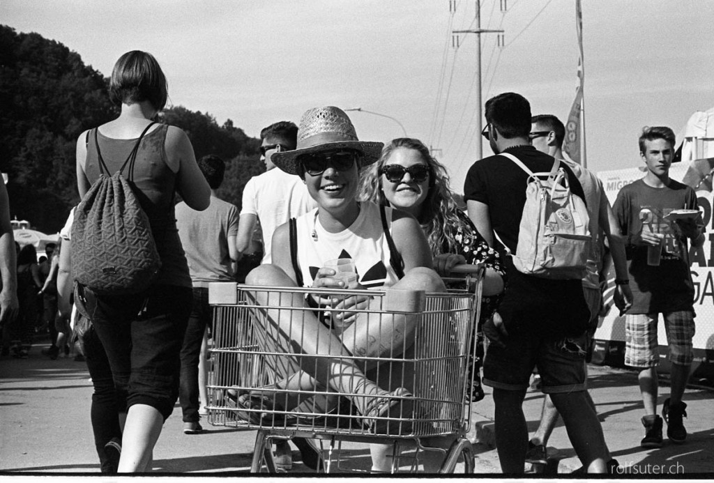 Shopping cart OpenAir St. Gallen