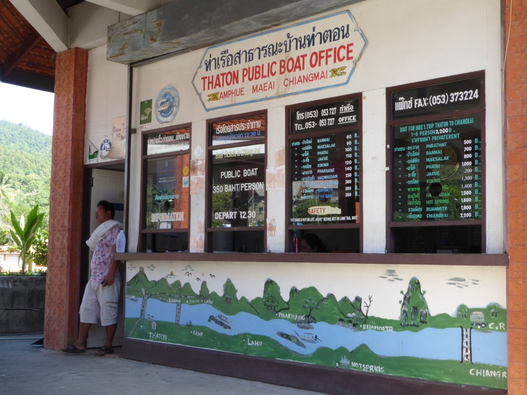 Thaton public boat office